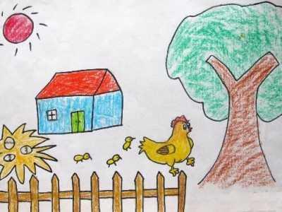 幼儿园中班创意绘画图片 幼儿园中班绘画课图片