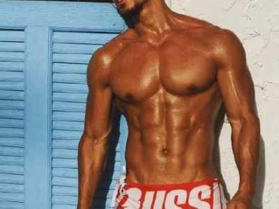 中国肌肉男在外国姑娘眼里有多吸引人 外国健身男模特