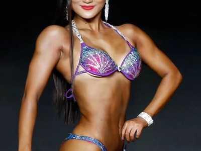 健美运动员漂亮的身材和肌肉 中国运动员的肌肉图片