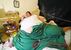 曾重553公斤获吉尼斯 世界最胖的男人去世