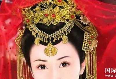 古代女子头上的那些珠宝首饰 古代发饰