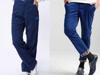 深蓝色裤子搭配鞋子 深蓝色运动鞋搭配