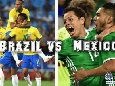 巴西VS墨西哥比分记录一览表 巴西墨西哥历史战绩