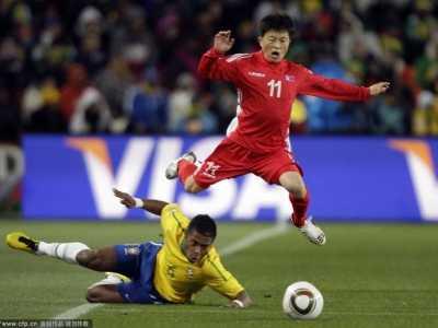 神秘之师震惊世界 巴西vs朝鲜