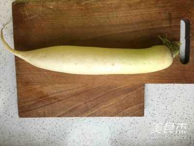 简单腌酸甜白萝卜的做法 酸甜萝卜的做法