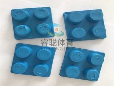 运动地板专用橡胶减震胶垫厂家 齐齐哈尔市运动地板橡胶减震块