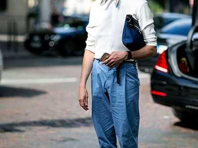 胖的男生穿什幺好看 男胖人穿运动裤好看吗